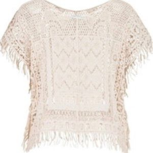 MAURICES CROCHET PONCHO